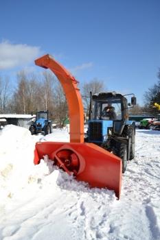 Роторный   снегоочиститель  ЕМ-800