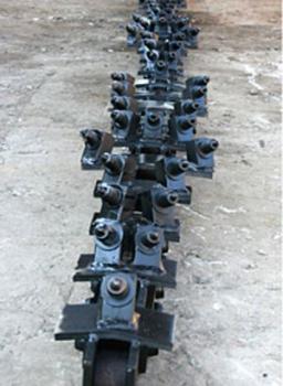 Цепь с поворотными твердосплавными резцами  А40-16F